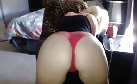 Sexy amateur twerking