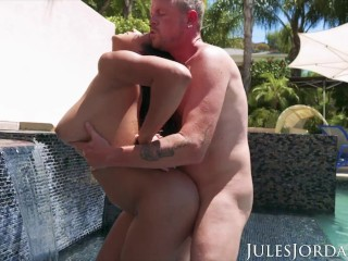Jules Jordan - Autumn Falls Natural Breast Worship